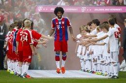 U13-Torwart Yannik Warmuth beim FC Bayern