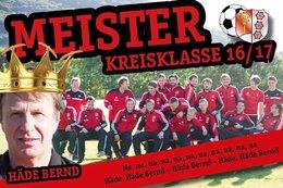 Kreisklassemeister 2016/2017