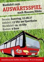 Busfahrt zum ersten Auswärtsspiel